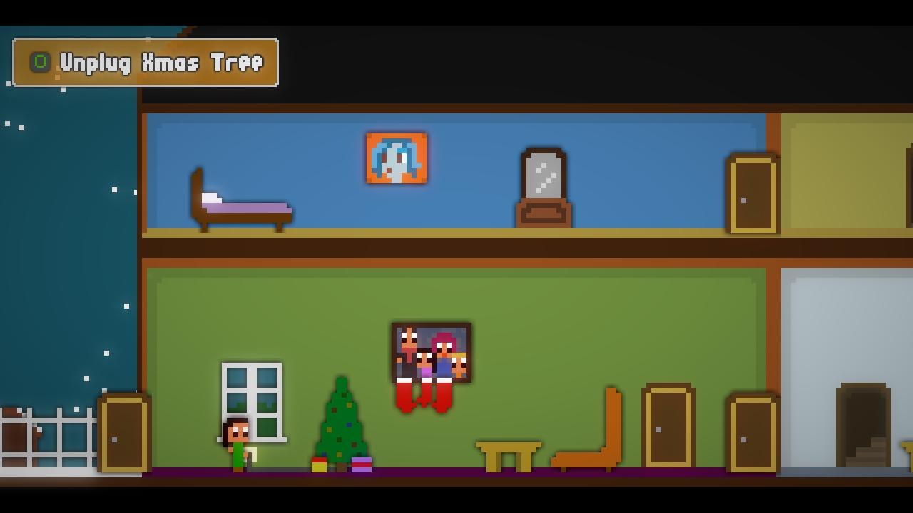 Screenshot of Quiet Christmas