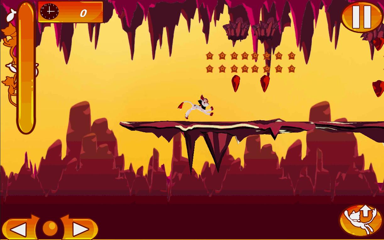 Screenshot of Lava Cat