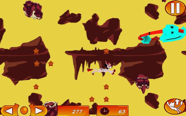 Screenshot of Lava Cat Minigame Trilogy
