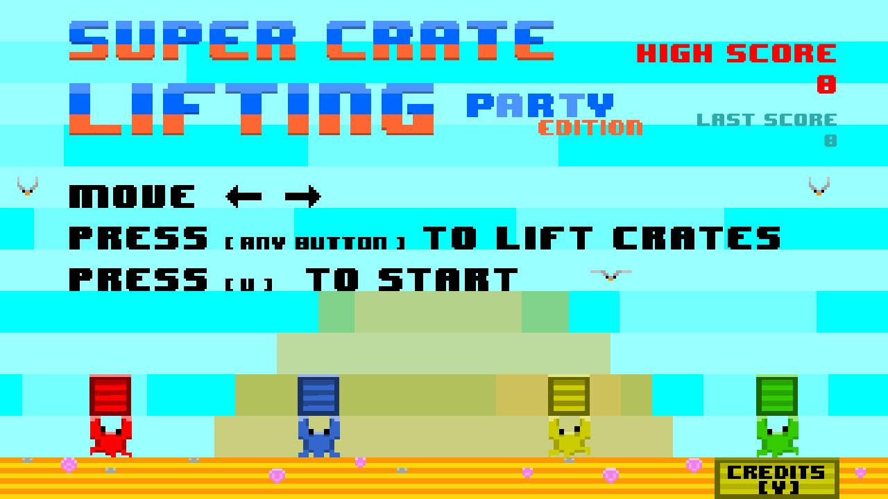 Screenshot of SUPER CRATE LIFTING Party Edition