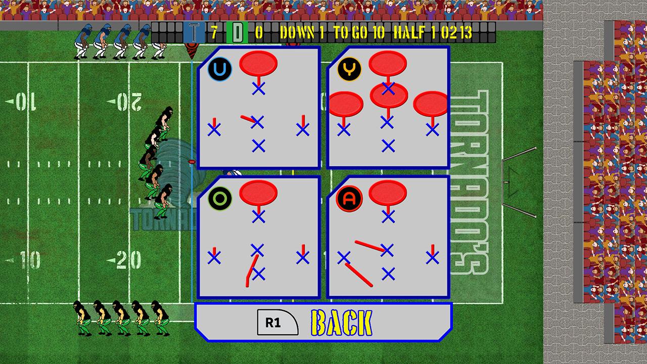 Screenshot of 4th & Goal Football