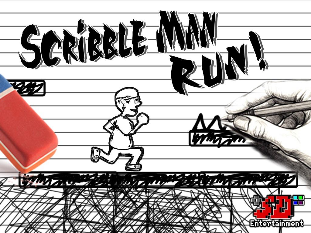 Screenshot of Scribble Man Run!