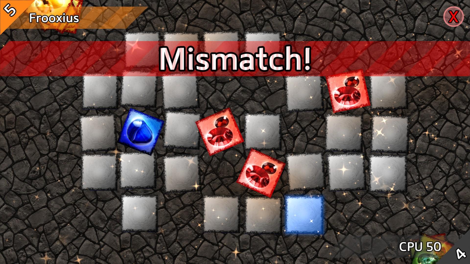 Screenshot of CardMatch 3D