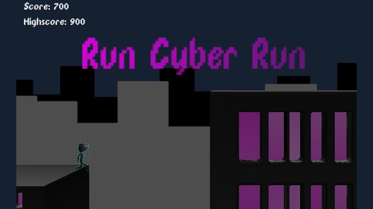 Screenshot of ../game/com.StevenHoskins.RunCyberRun.htm