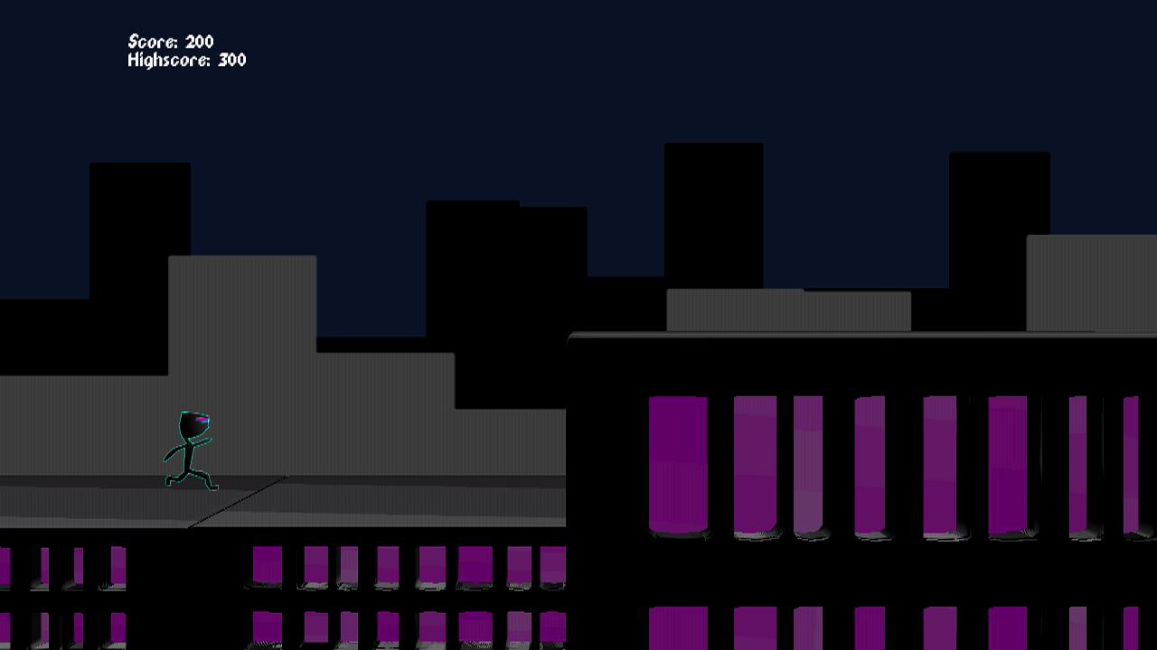 Screenshot of Run Cyber Run