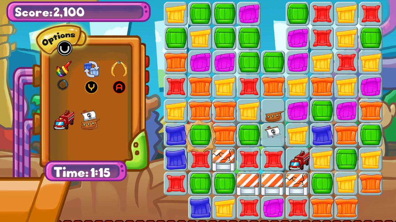 Screenshot of Tina's Toy Factory