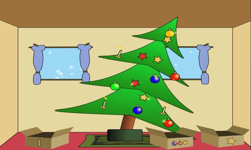 Screenshot of Christmas Tree Decoration