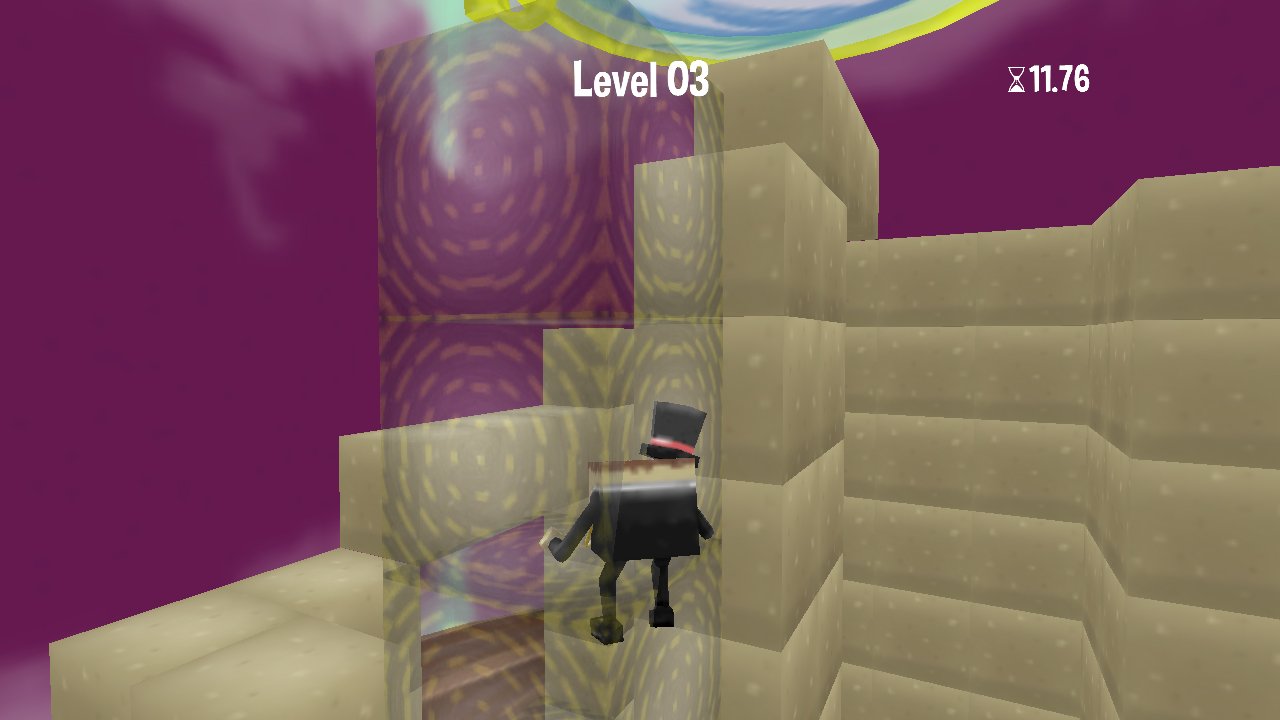 Screenshot of Monocle Man