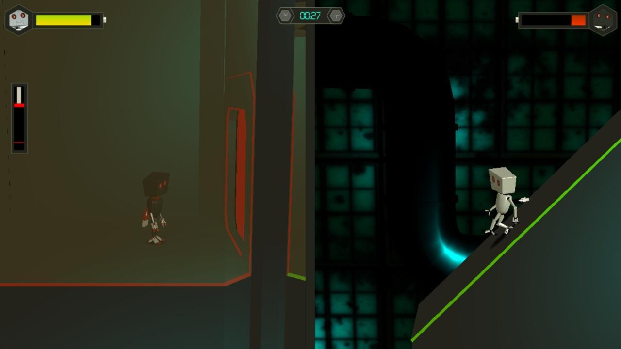 Screenshot of Twin Robots