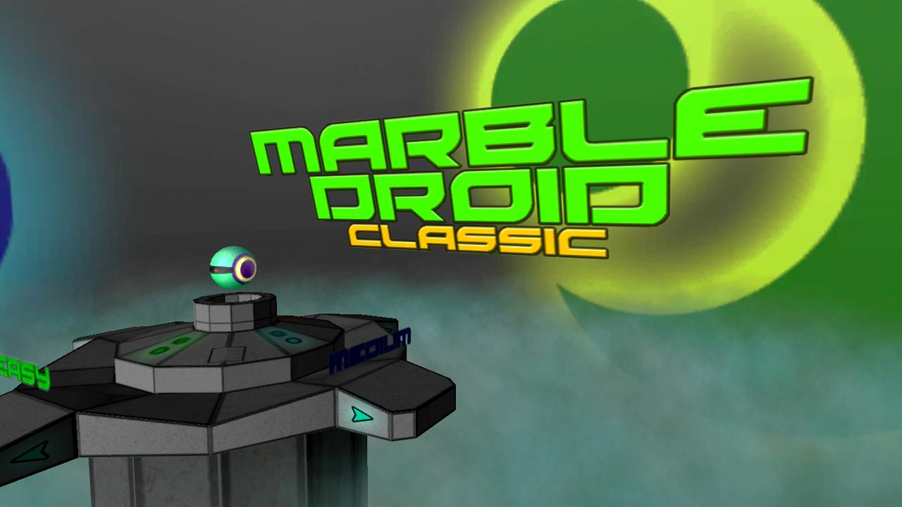 Screenshot of MarbleDroid Classic