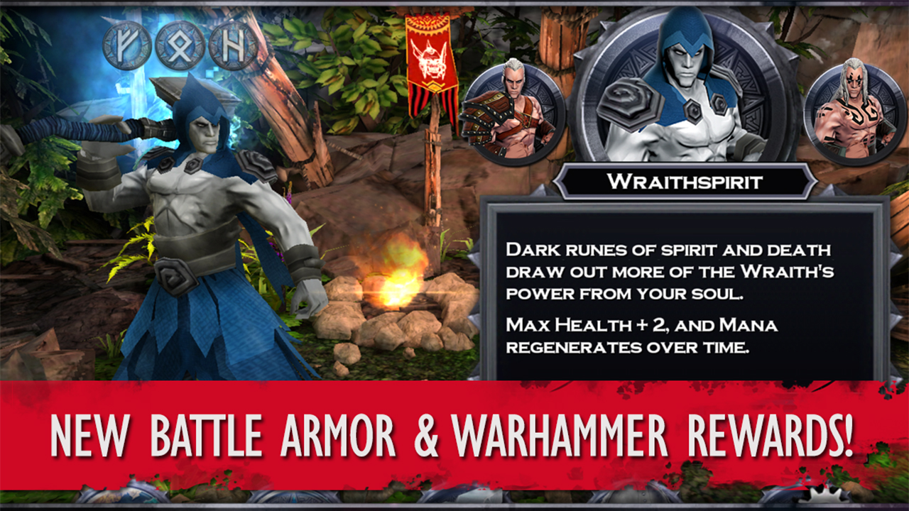 Screenshot of Wraithborne