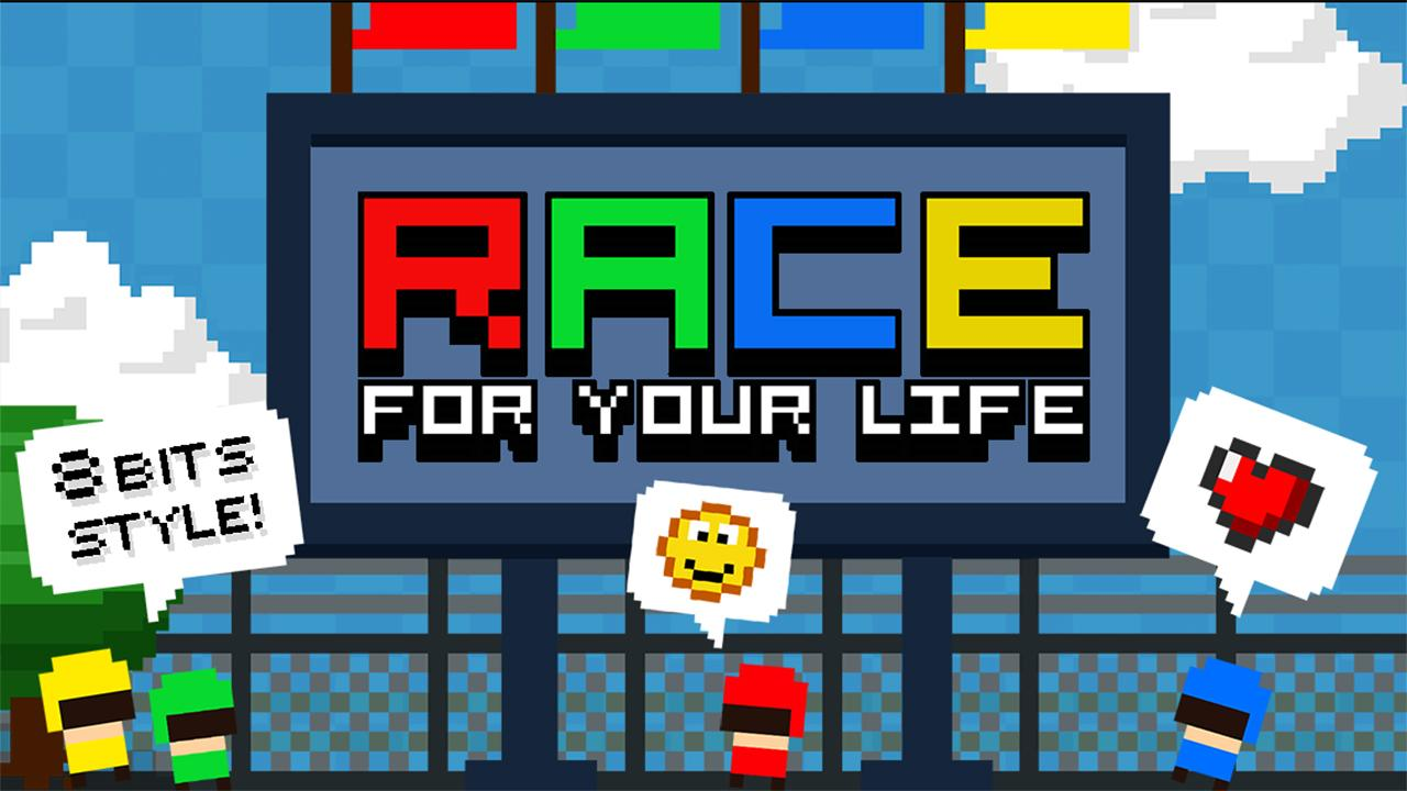 Screenshot of Race for Your Life