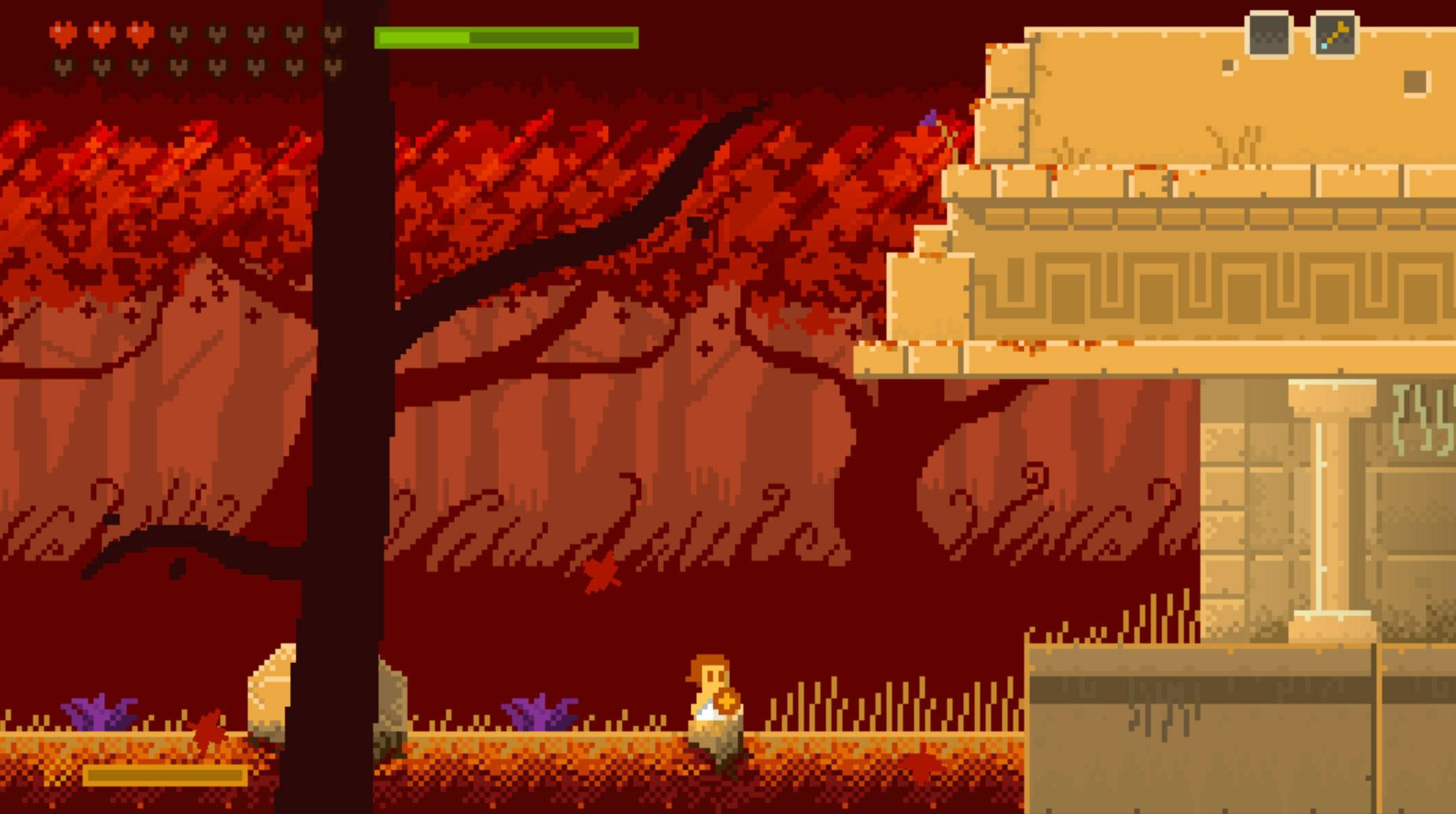 Screenshot of Elliot Quest