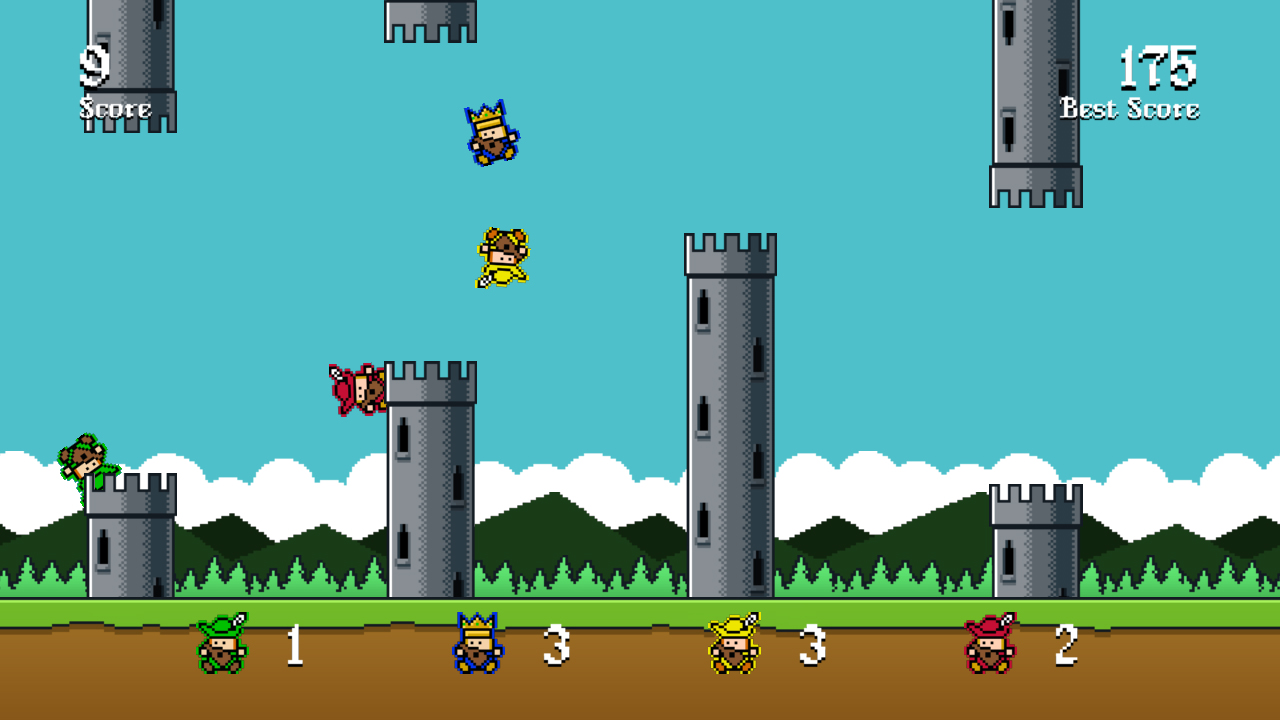 Screenshot of Flippy Bard