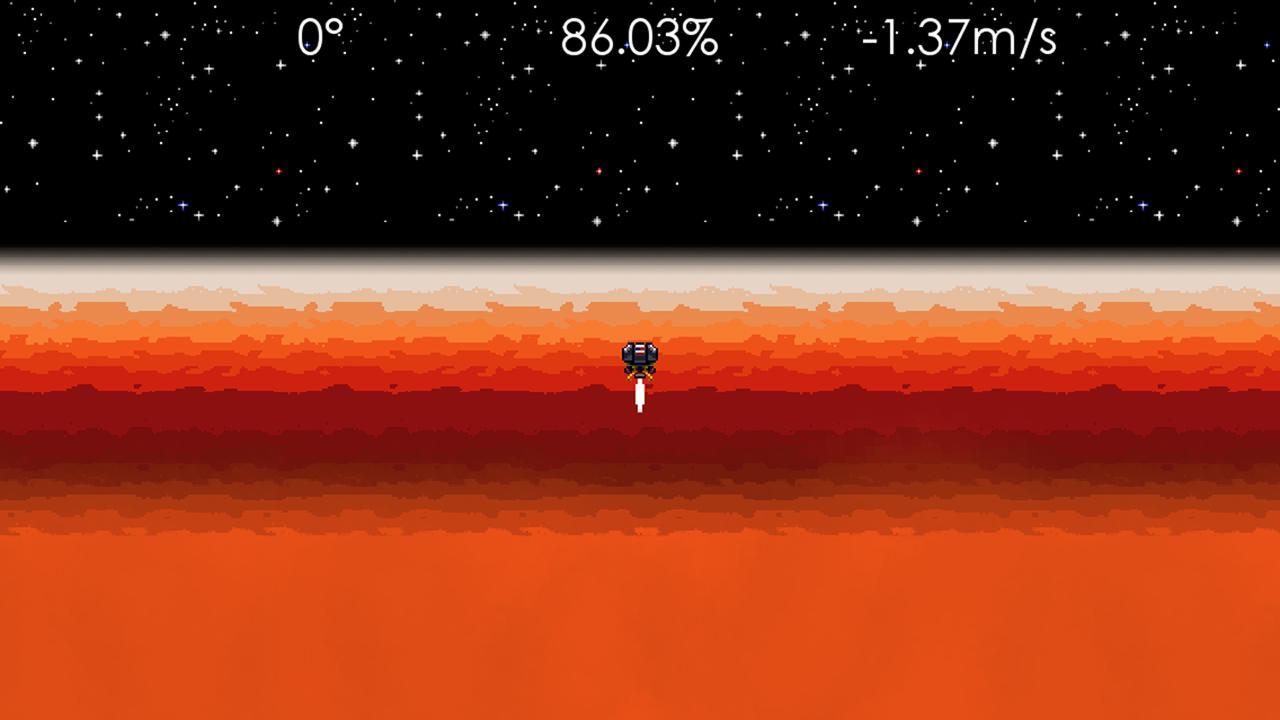 Screenshot of Jupiter Lander