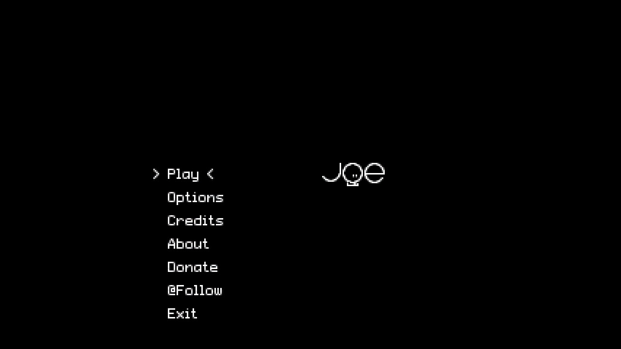 Screenshot of Joe