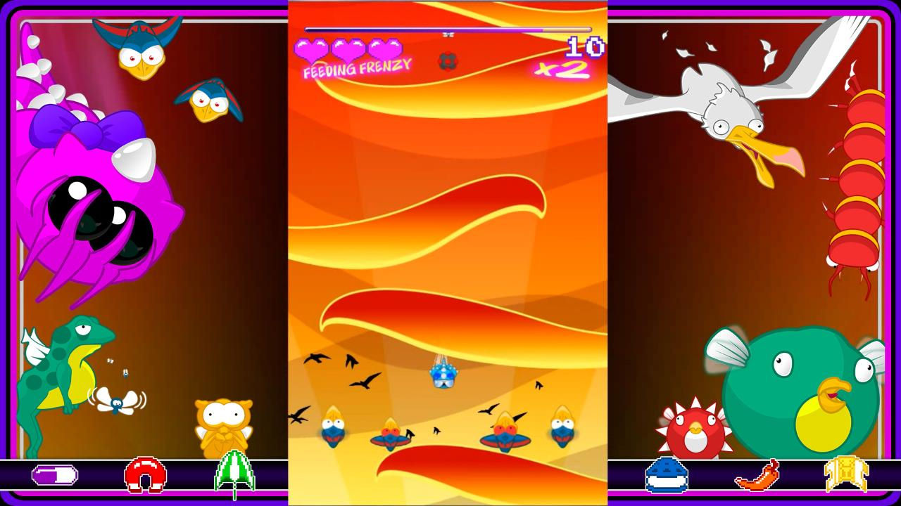 Screenshot of DiveBomb Chomp