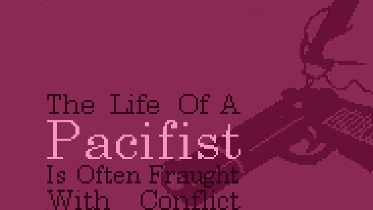 Screenshot of ../game/com.bentosmile.pacifist.htm