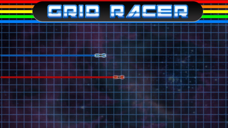 Screenshot of ../game/com.bluebananagames.gridracer.htm