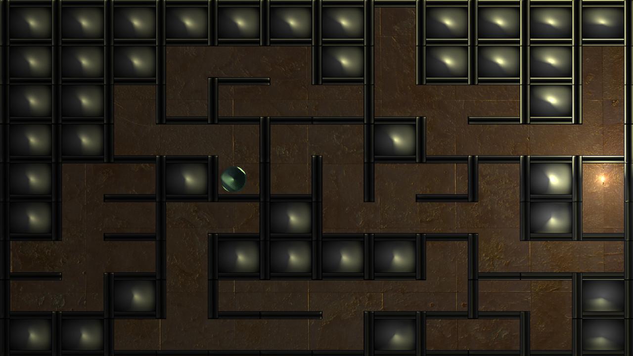 Screenshot of Labyrinth Wall Pusher