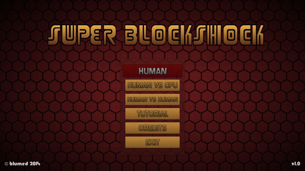 Screenshot of Super Blockshocker
