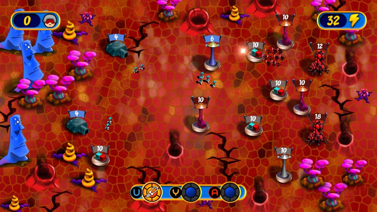 Screenshot of Cosmic Conquest