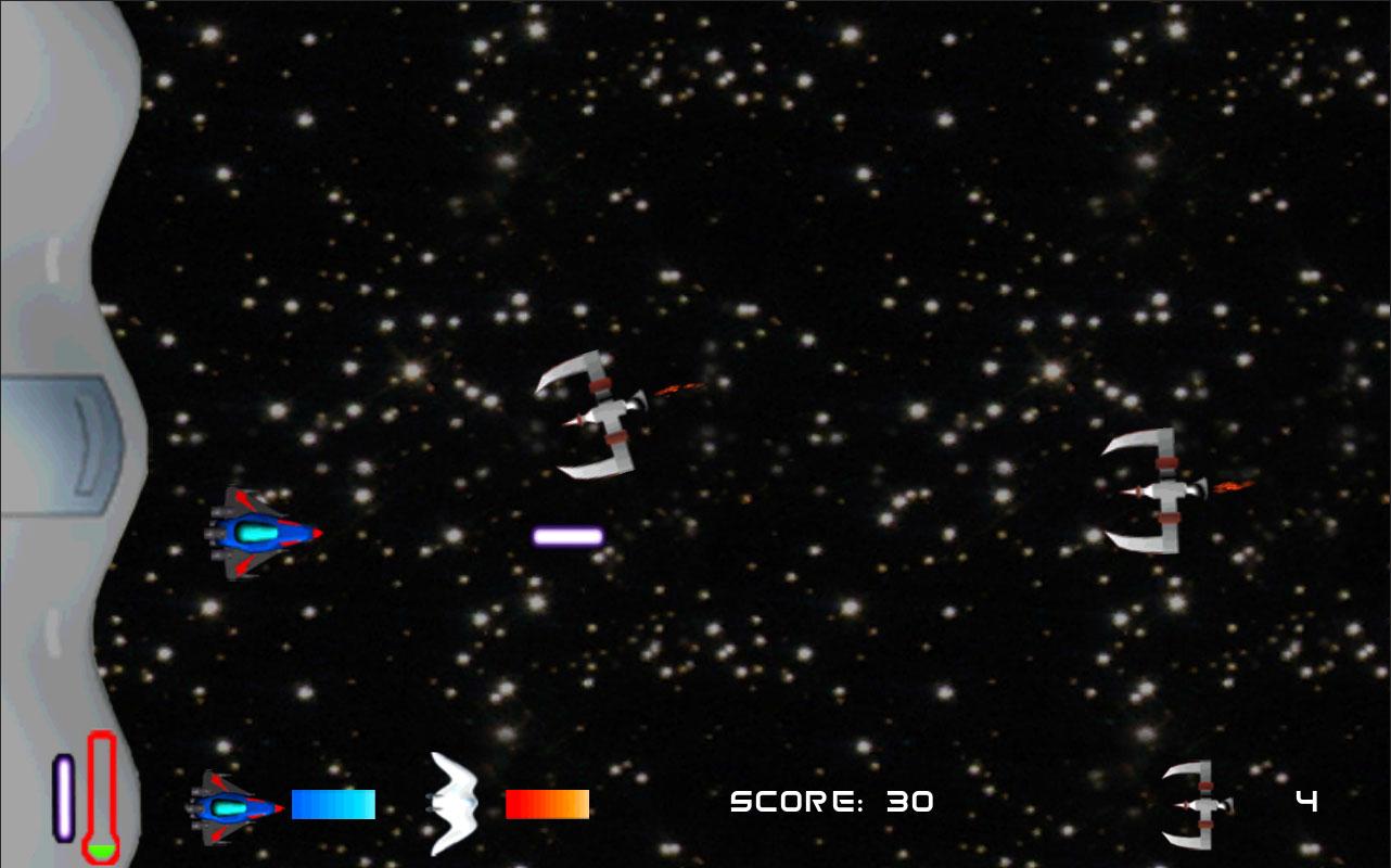 Screenshot of Astro Fighter Alpha