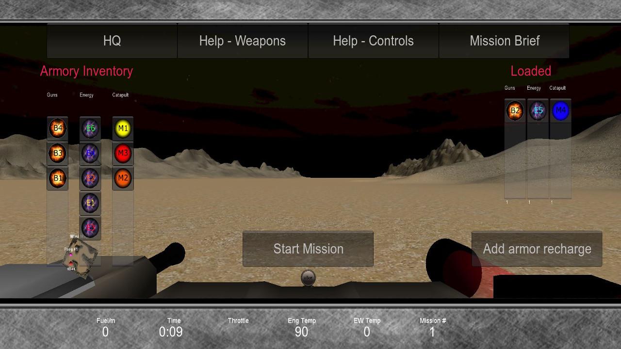 Screenshot of Derelict Droid in Droneland