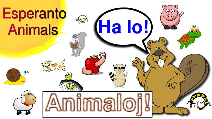 Screenshot of ../game/com.cherokeelessons.esperanto.animals.htm