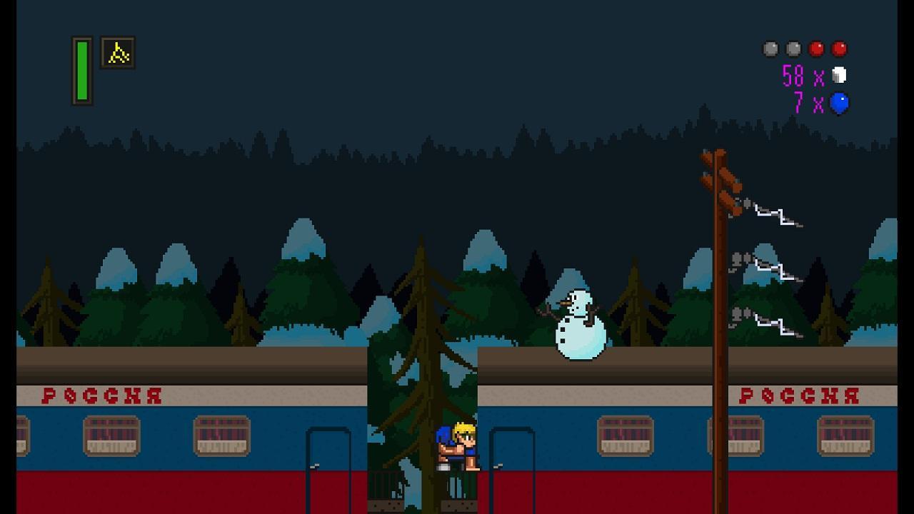 Screenshot of The Adventures of Chris
