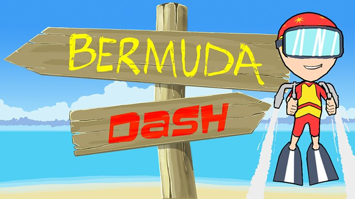 Screenshot of ../game/com.ci.bermudadash.htm