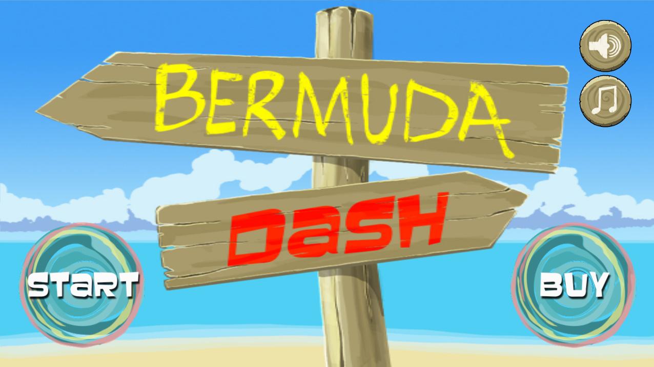 Screenshot of Bermuda Dash