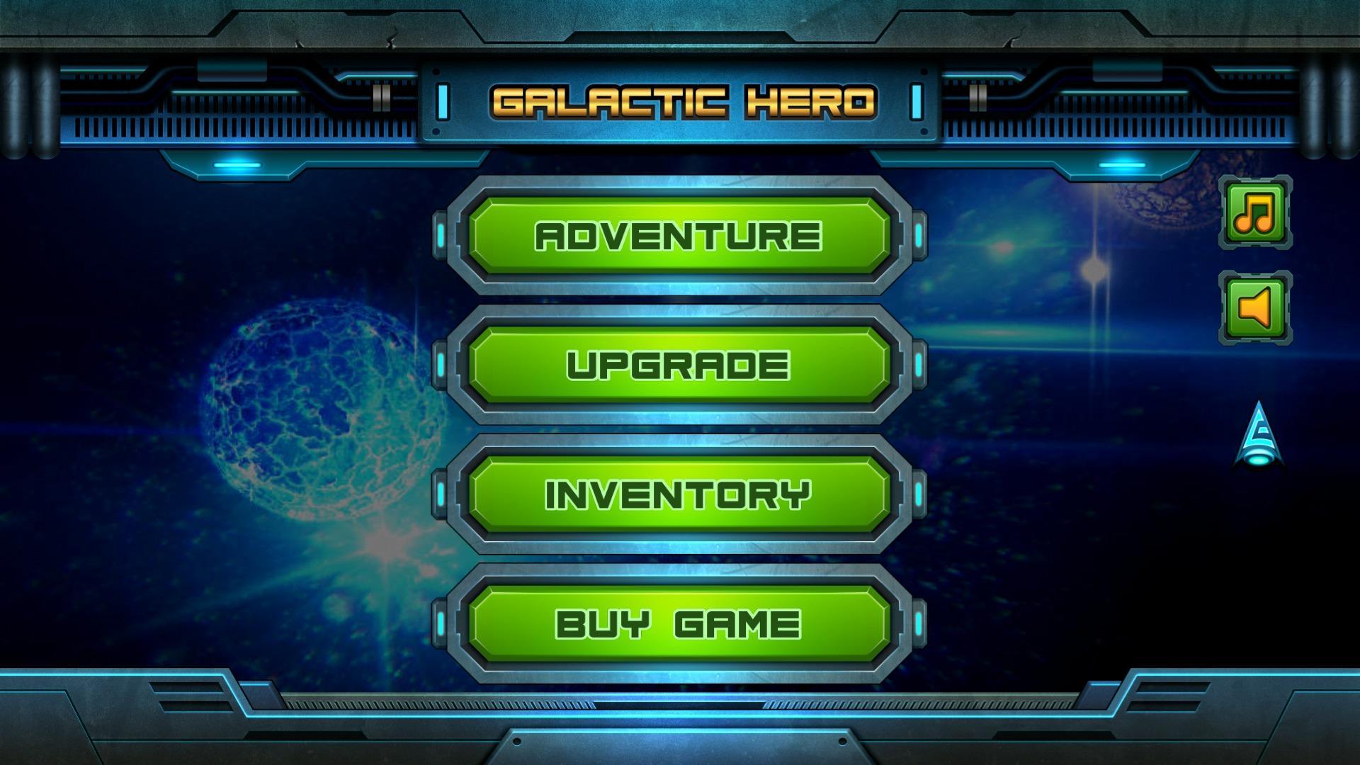 Screenshot of Galactic Hero