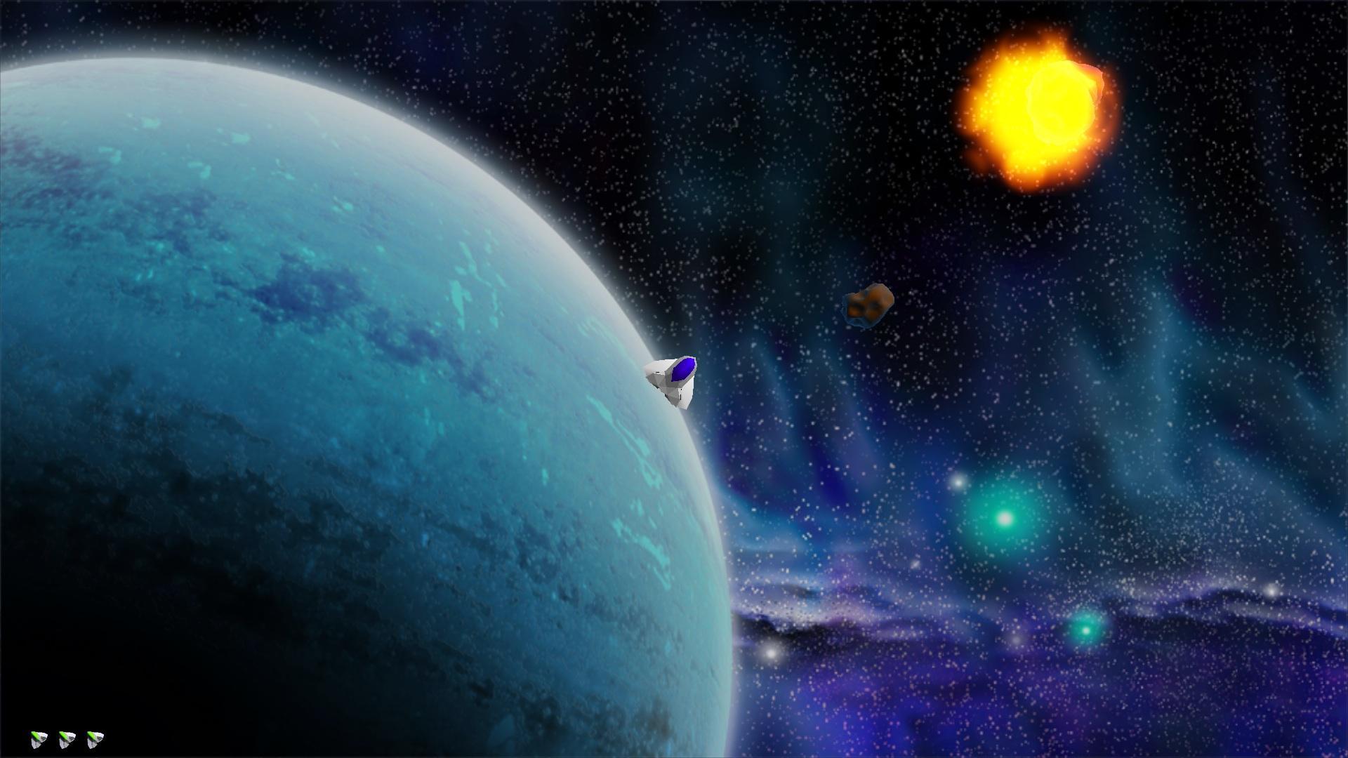 Screenshot of Fancy Asteroids