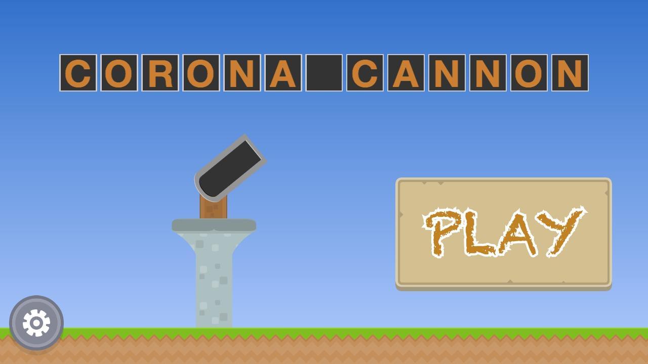 Screenshot of Corona Cannon