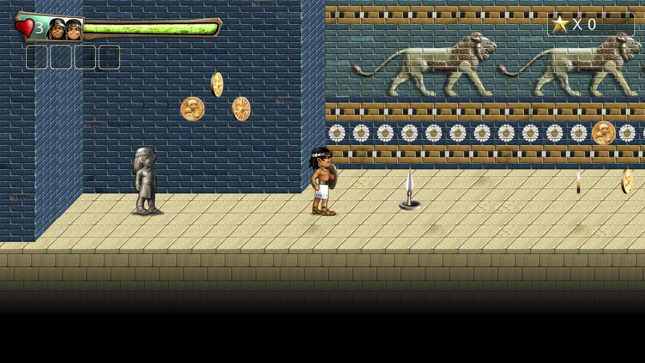 Screenshot of Babylonian Twins