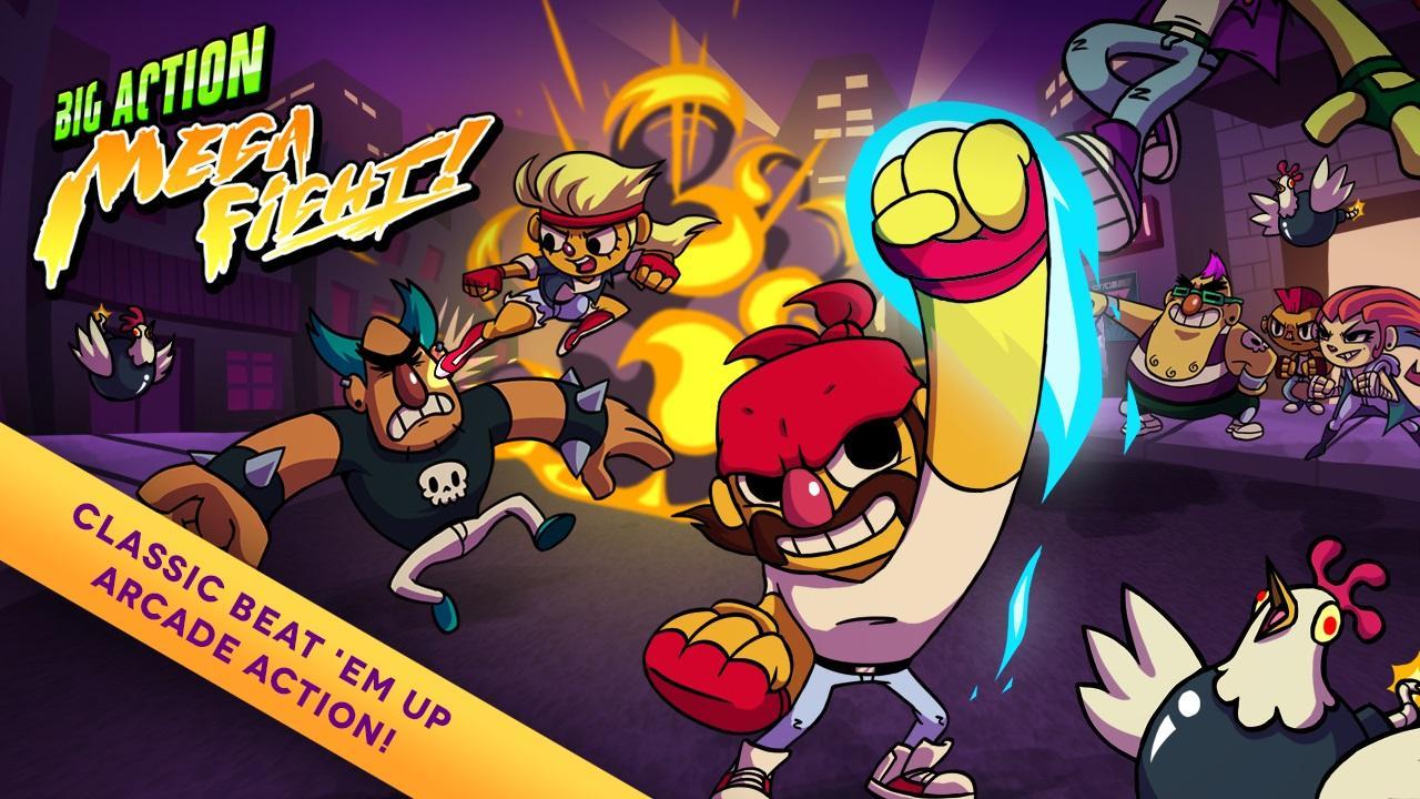 Screenshot of Big Action Mega Fight!
