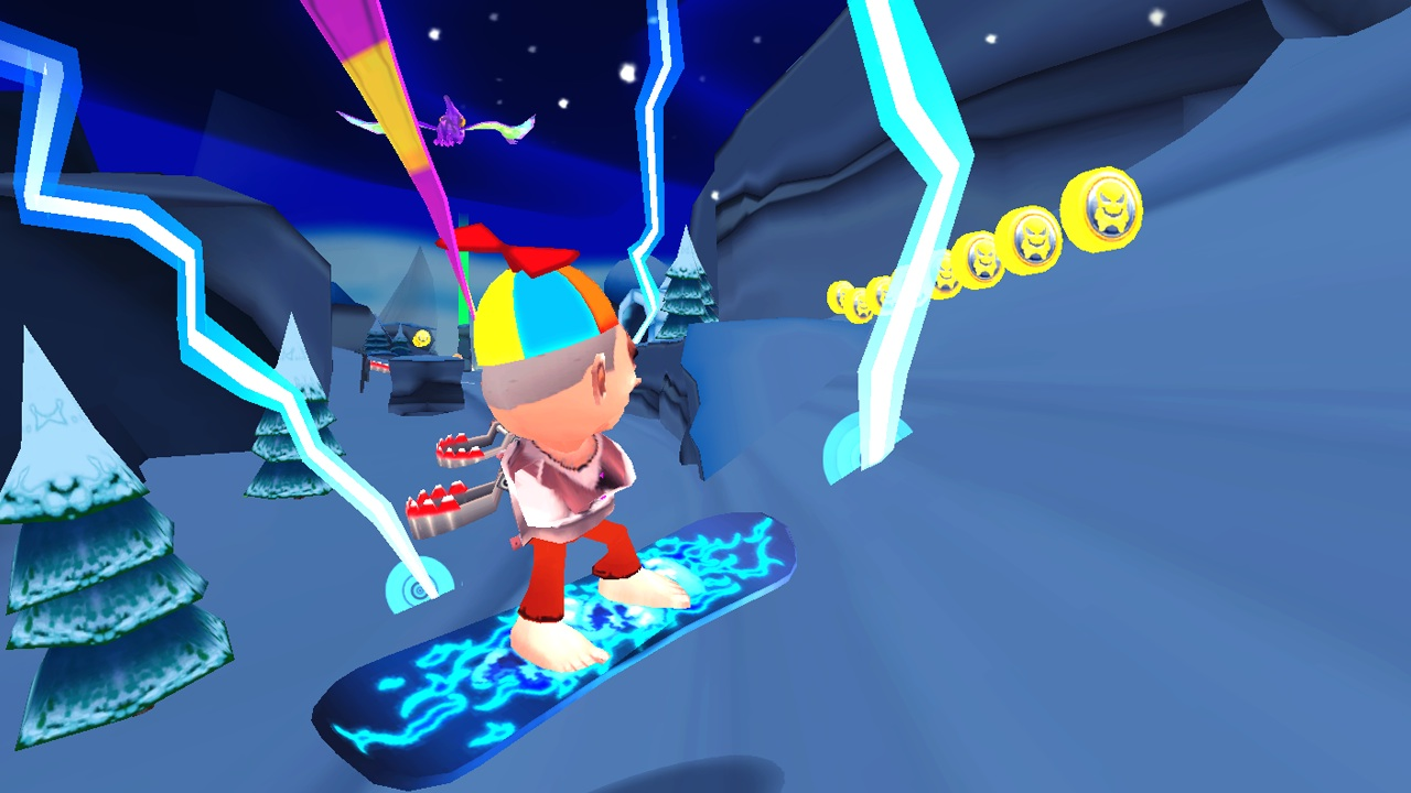Screenshot of Skiing Fred