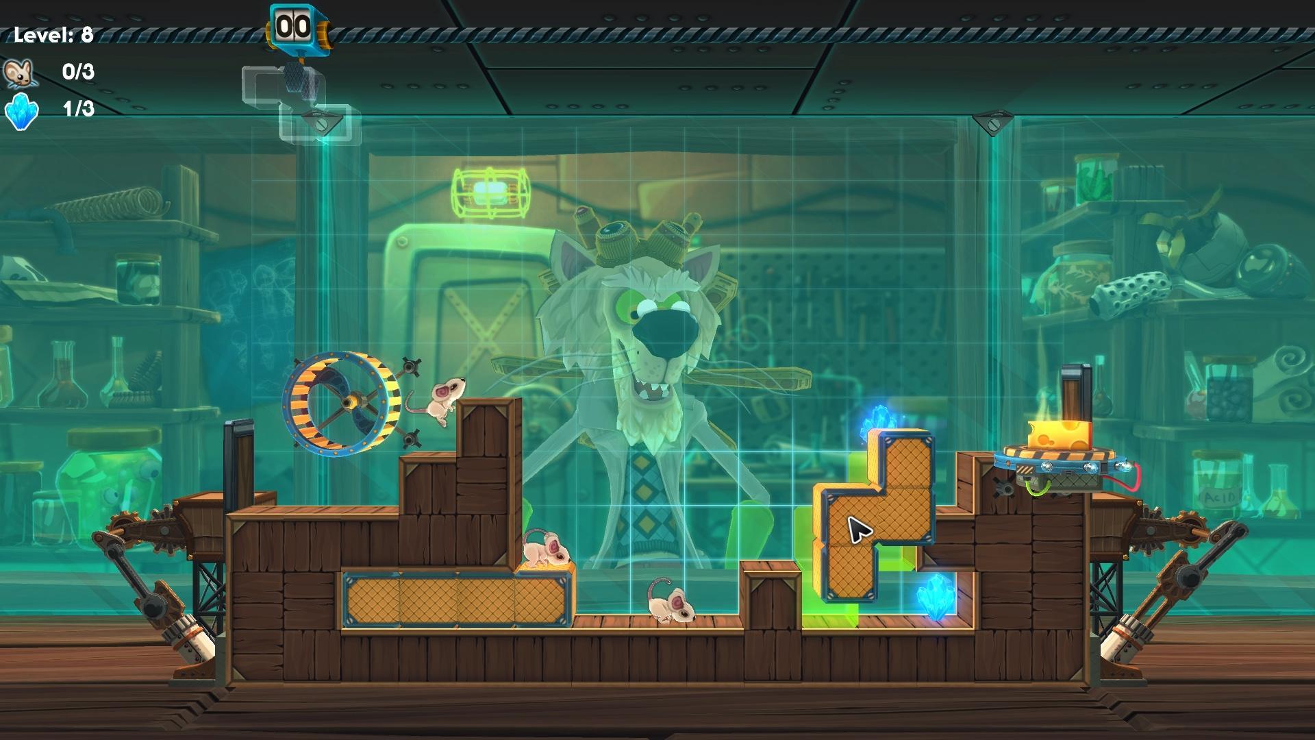 Screenshot of MouseCraft