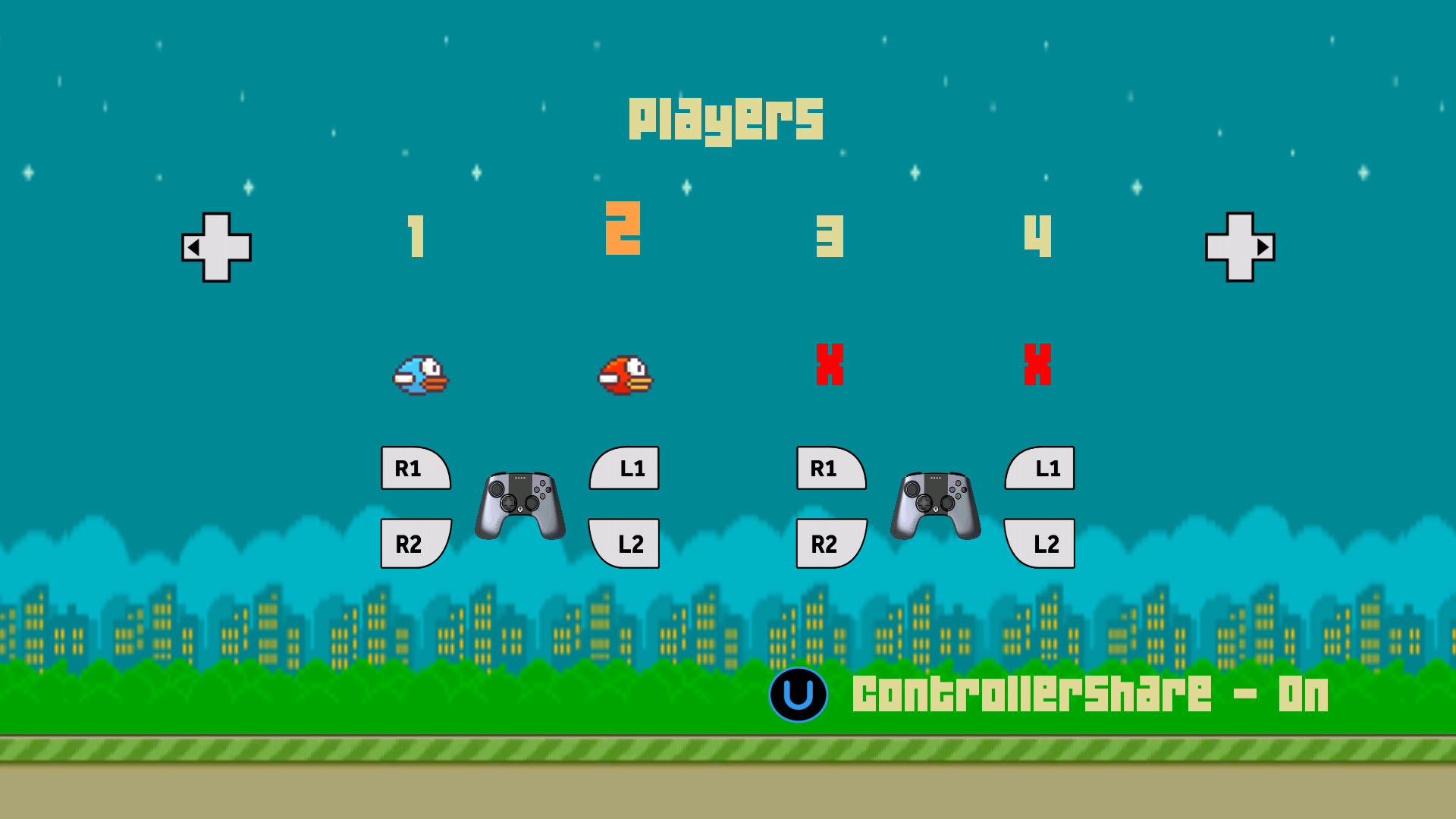 Screenshot of Multi Birds
