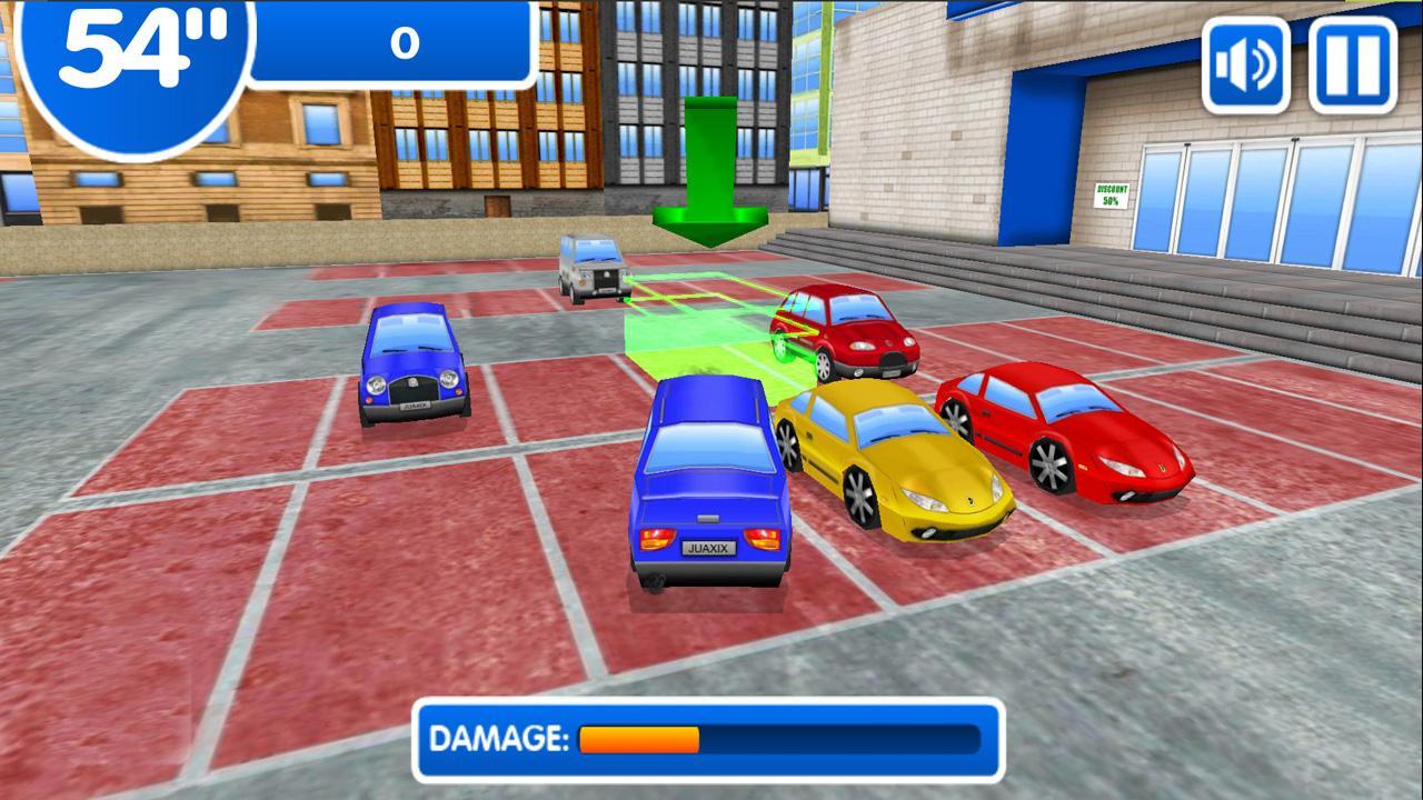 Screenshot of Shopping Mall Parking