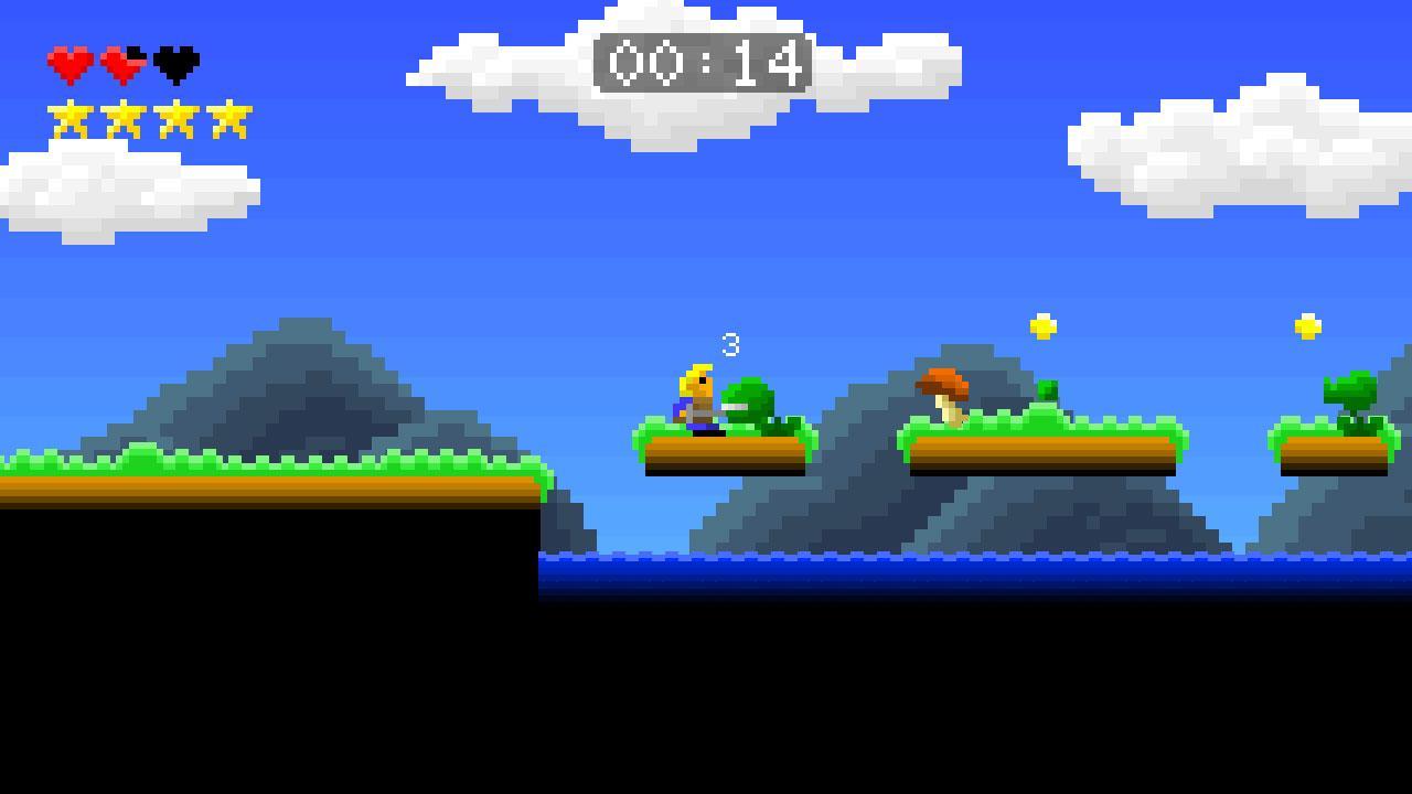 Screenshot of Rush to Adventure