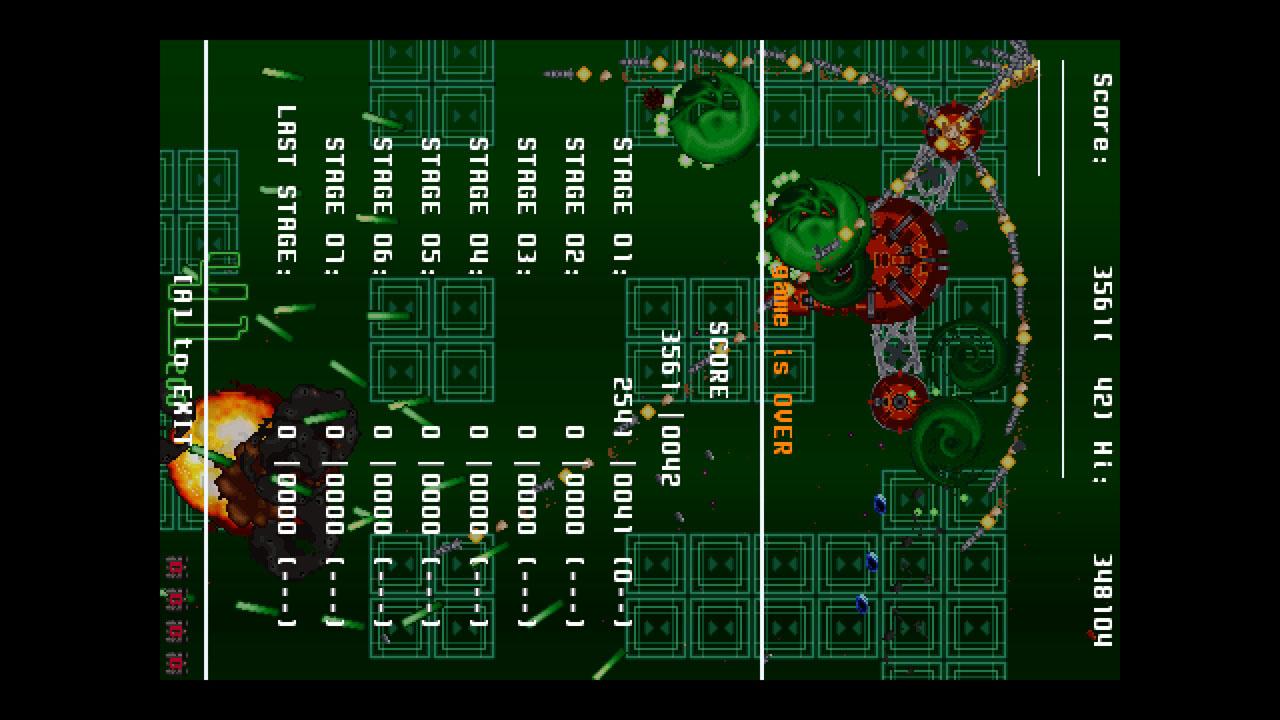 Screenshot of Genocide Circuit rebuild