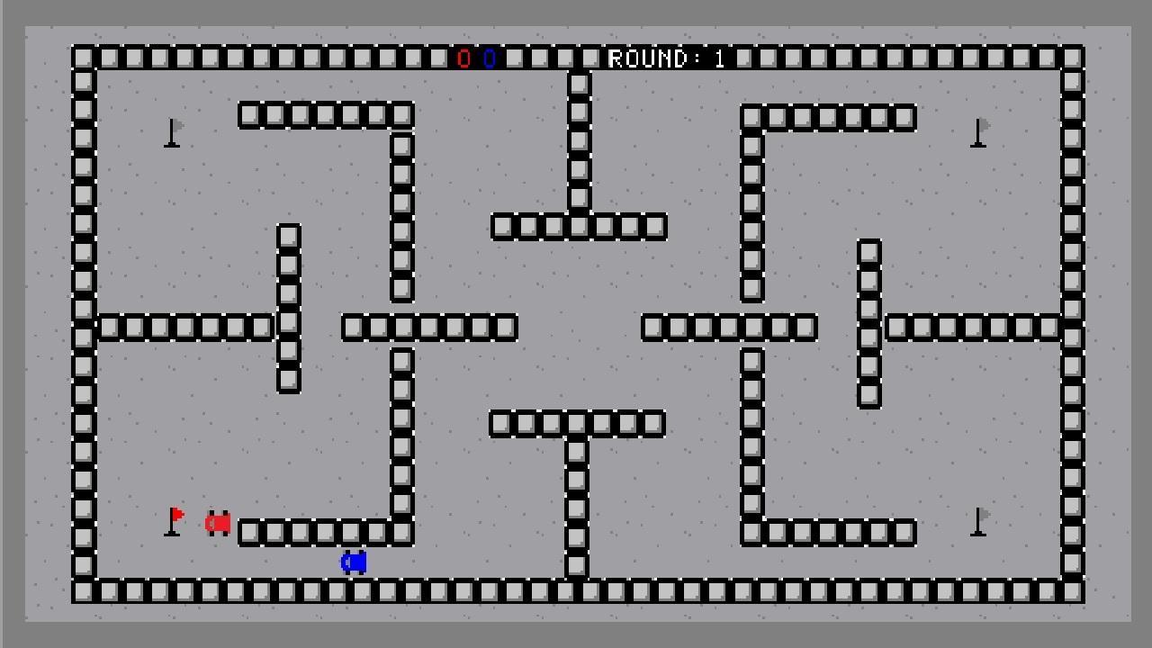Screenshot of Flag Racers!