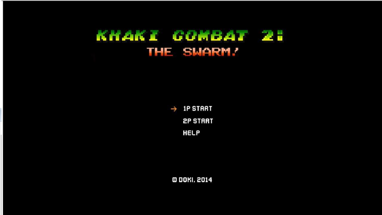 Screenshot of Khaki Combat 2: The Swarm