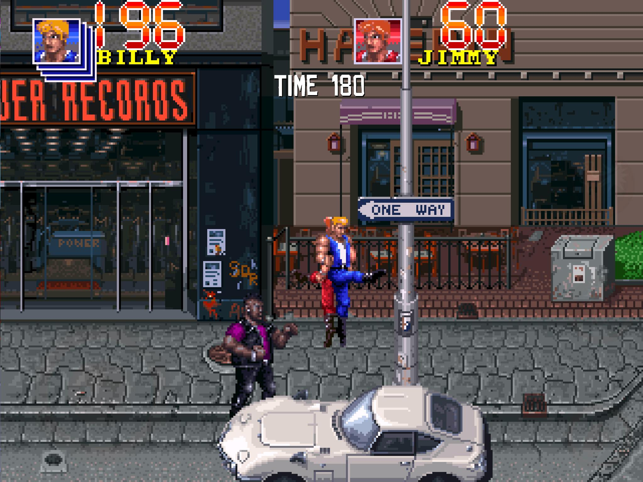Screenshot of Double Dragon Trilogy