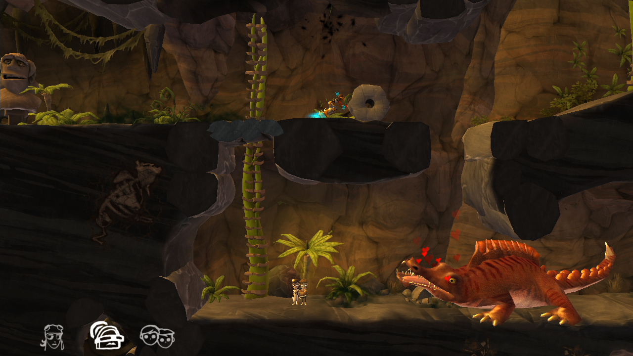 Screenshot of The Cave