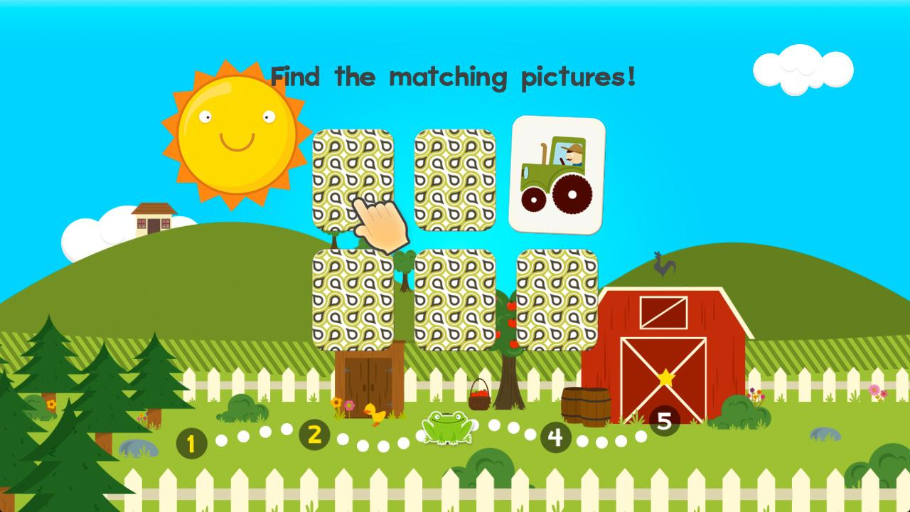 Screenshot of 123 Animal Preschool Games for Kids