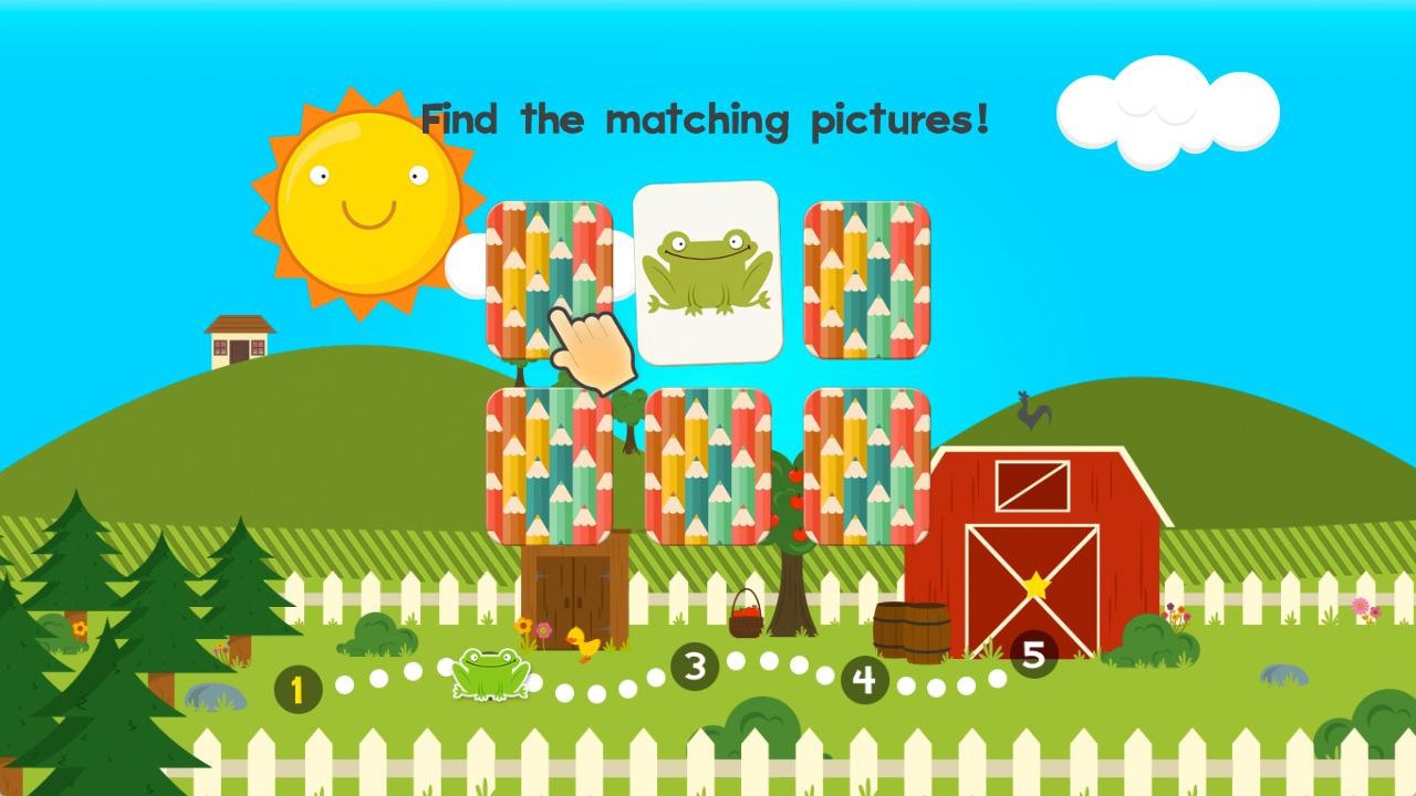 Screenshot of 123 Animal Math Games for Kids