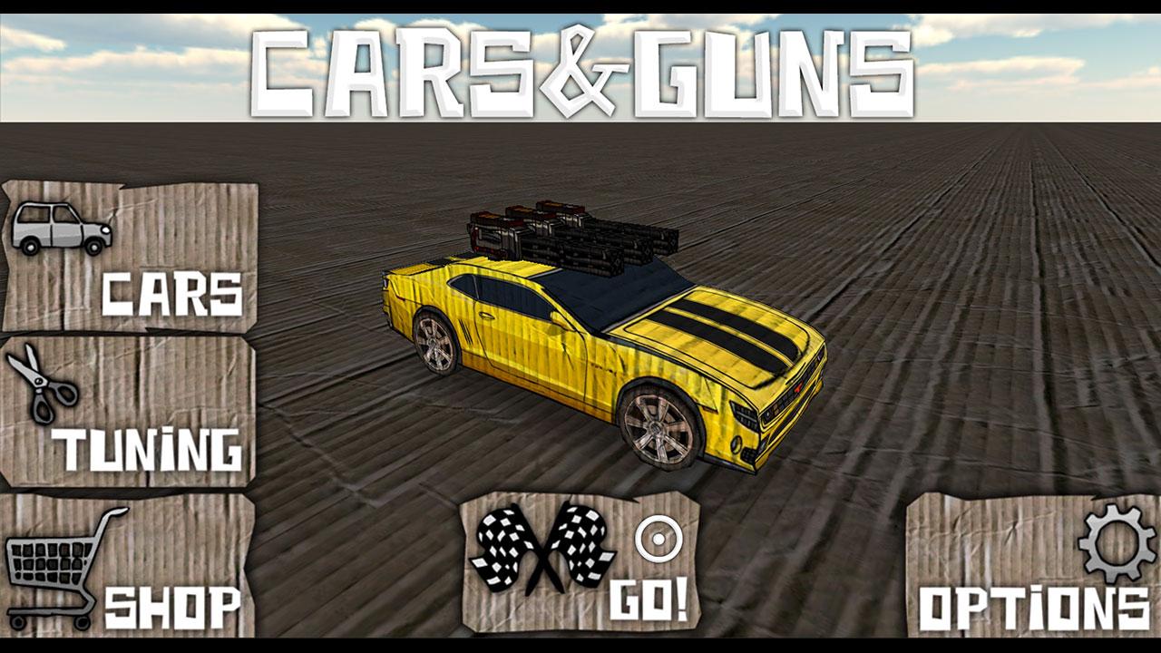 Screenshot of Cars And Guns 3D